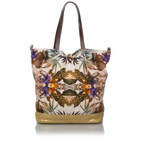 Anokhi Shopper Cheyenne 117-5201-0083 Canvas Metallic Kalaidoscop
