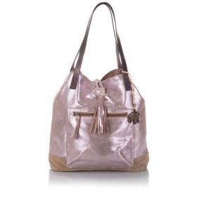 Anokhi Shopper Kai 117-7126-502 Leder Shiny Pink