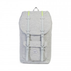 Herschel Rucksack Little America 23L Rubber Light Crosshatch Grey