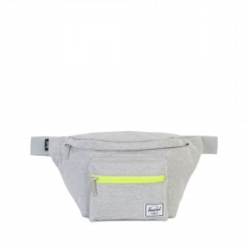 Herschel Gürteltasche Seventeen Light Grey Crosshatch-Acid