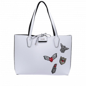 Guess Wendeshopper Bobbi HWPT64-22150-WTB White Black