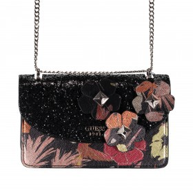 Guess Schultertasche Fall In Love HWMF67-90780-BLK Black Floral
