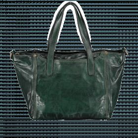 Campomaggi Calla Shopper Leder C4721-VL-1606 Verde Bottiglia