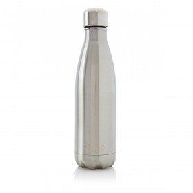 S'WELL BOTTLE 500ml SWB-SLVR07 Silver Lining