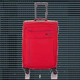 Travelite Solaris 4 Rollen Trolley 67cm Rot