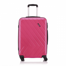 Travelite Quick 4-Rad Trolley 64cm Pink