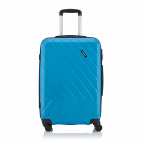 Travelite Quick 4-Rad Trolley 64cm Blau