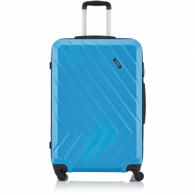 Travelite Quick 4-Rad Trolley 74cm Blau