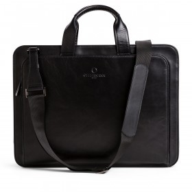 OFFERMANN Workbag 2 Handles Fine Carbon Black