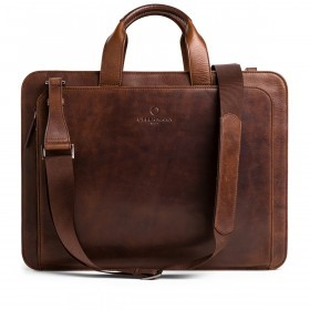 OFFERMANN Workbag 2 Handles Chestnut Brown