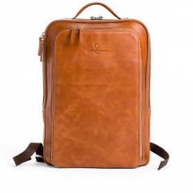 OFFERMANN Backpack M Cognac