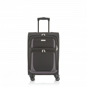 Travelite Paklite 4 Rollen Trolley 55cm Anthrazit