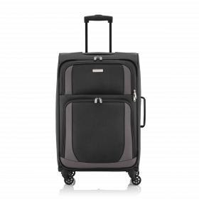 Travelite Paklite 4 Rollen Trolley 65cm Anthrazit