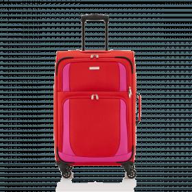 Travelite Paklite 4 Rollen Trolley 65cm Rot