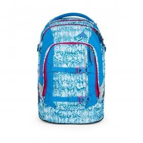 Satch Pack Rucksack Aloha Blue