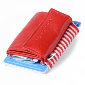 SPACEWALLET 2.0 Push Leder Drive Red