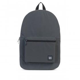 Herschel Rucksack Packable Daypack Black Reflectiv