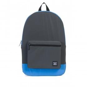 Herschel Rucksack Packable Daypack Black Neon Blue Reflective