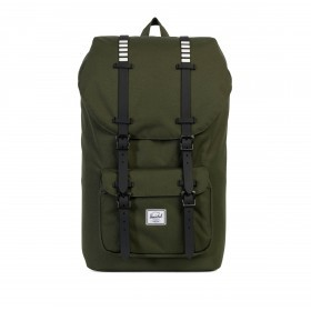 Herschel Rucksack Little America 23L Rubber Forest Night-Black
