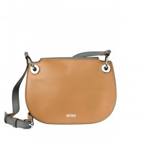 BREE Cordoba 6 Tasche Dark Grey Light Grey Cognac