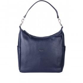 BREE Nola 10 Damenrucksack Leder Blau