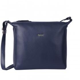 BREE Nola 11 Handtasche Leder Blau