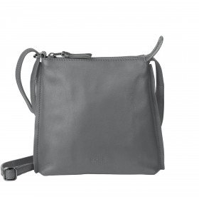 BREE Toulouse 1 Cross Shoulderbag S Leder Slate