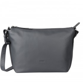 BREE Toulouse 2 Cross Shoulderbag M Leder Slate
