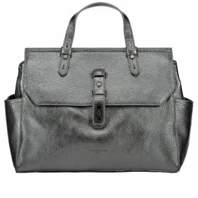 LIEBESKIND Heavy Idaho Handtasche Rock Grey Metallic