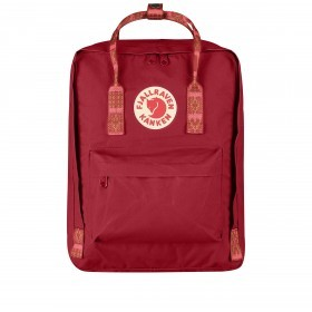 Fjällräven Kånken Rucksack Deep Red-Folk Blocked