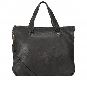 Desiderius Basic Hadice Handtasche Leder Black