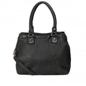 Desiderius Basic Olette Handtasche Leder Black