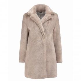 RINO & PELLE Mantel Tylia Faux Fur Gr.42
