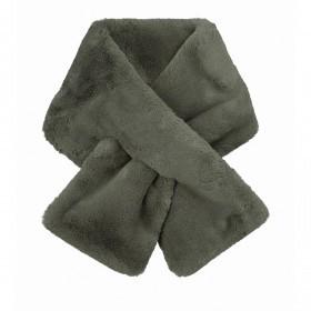 RINO & PELLE Schal Stip Faux Fur Urban Green