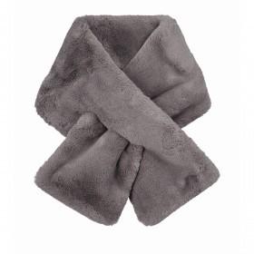 RINO & PELLE Schal Stip Faux Fur Rabbit
