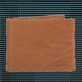 Strellson Woodford BillFold H10 Scheintasche Leder Cognac