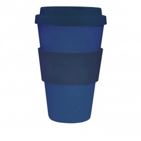 Ecoffee Cup 400ml Deep Blue With Blue Silicone