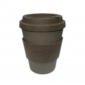 Ecoffee Cup 340ml Old Street With Grey Silicone