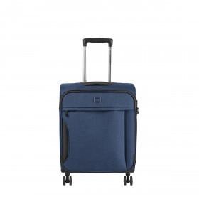 LOUBS Koffer 4-Rollen Darwin S Blau