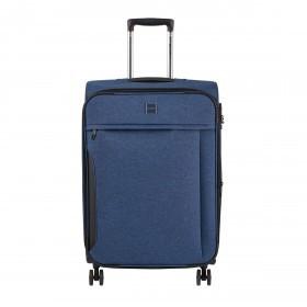 LOUBS Koffer 4-Rollen Darwin M Blau
