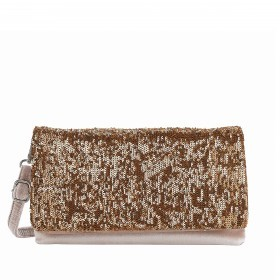 LOUBS Clutch Emelie Taupe/Gold