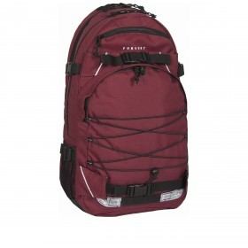 Forvert Laptop Louis 880192 Rucksack Burgundy