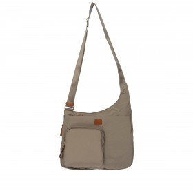 Brics X-Bag Crossbag BXG42732-425 Dove Grey