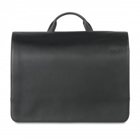 Salzen Messenger Bag ZEN-MES-001-801 Total Black