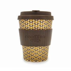 Ecoffee Cup 340ml Threadneedle With Dark Grey