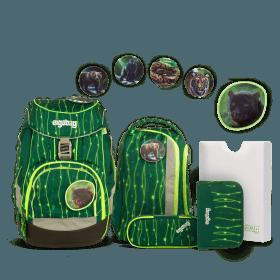 Ergobag Schulranzen-Set 6-teilig Lumi Edition RambazamBär