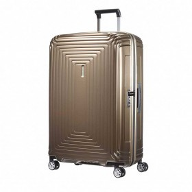 Samsonite Koffer/Trolley Neopulse 65754 Spinner 75 Metallic Sand