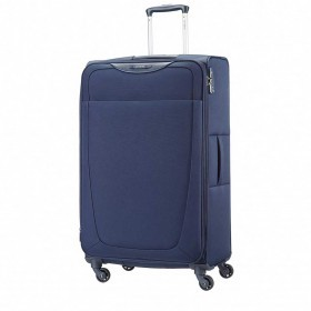 Samsonite Base Hits 59145 Spinner 77 Expandable Navy Blue