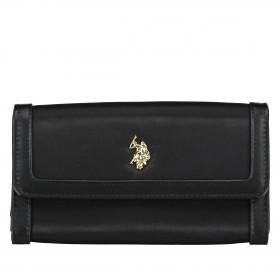 U.S. Polo Assn. Houston L Flap Wallet BIUHU4930WIP.000 Black