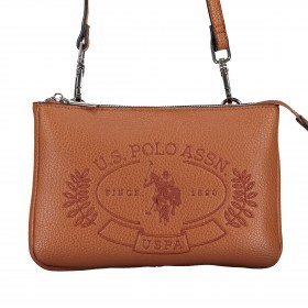 U.S. Polo Assn. Hailey Flat Crossbody Bag BIUHF4993WVP.521 Tan